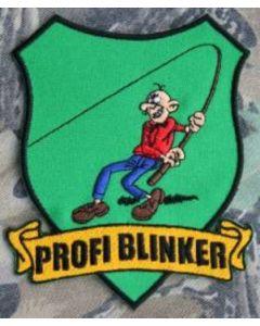 Profi Blinker Aufnäher hellgrün Original-Logo