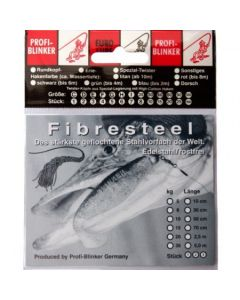 Fibresteel 5m Ring incl. 20 Quetschhülsen 15kg