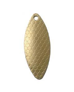 PROLLEX Long Weitwurf Spinner schuppen gold Größe 2