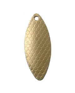 PROLLEX Long Weitwurf Spinner schuppen gold Größe 5