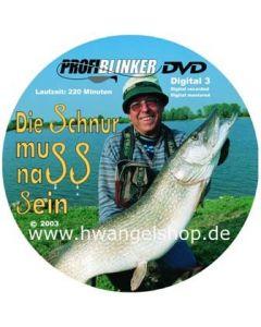 """Profi Blinker DVD Teil 10 """"Die Schnur muss nass sein"""""""