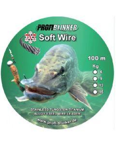 Soft-Wire Stahlvorfächer 100 Meter - 15kg Tragkraft